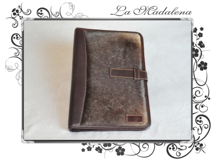602P Stationery: Calf hair leather document case, folder, A4 and Legal