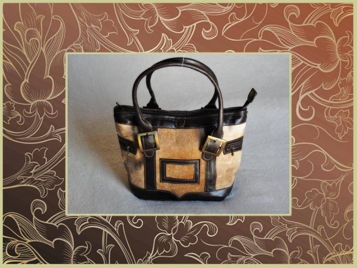 2850P Calf hair Leather Grand Prix bag 99f0878358ec1