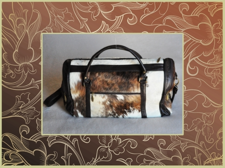 2856P Calf hair leather bag, big size